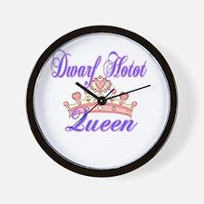 Dwarf Hotot Queen Wall Clock
