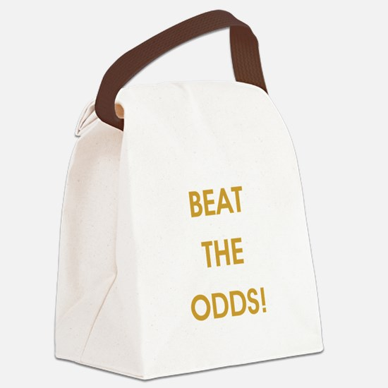 BEAT THE ODDS! Canvas Lunch Bag