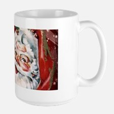 Vintage Santa Claus with many gifts Mugs