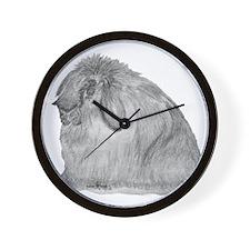AFL By Karla Hetzler Wall Clock