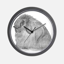 AFL By Karla Hetzler Wall Clock