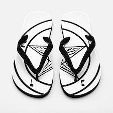 Baphomet - Satan Flip Flops