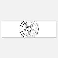 Baphomet - Satan Bumper Bumper Bumper Sticker
