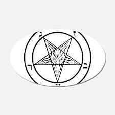 Baphomet - Satan Wall Sticker