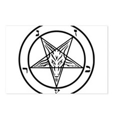 Baphomet - Satan Postcards (Package of 8)