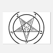Baphomet - Satan Postcards (Package of 8)