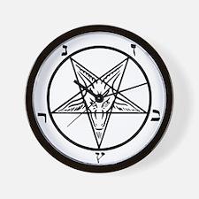 Baphomet - Satan Wall Clock
