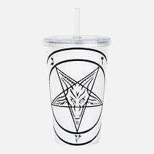 Baphomet - Satan Acrylic Double-wall Tumbler
