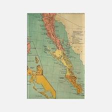 Unique California lover Rectangle Magnet