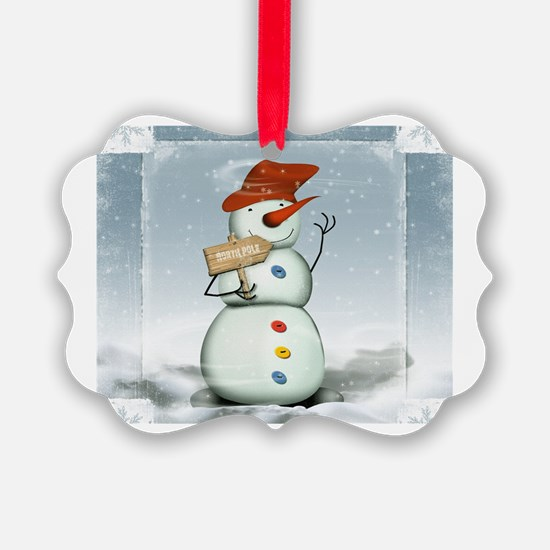 Cute Blizzard Ornament