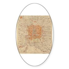 Unique China map Decal