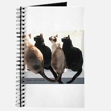 Bird Watching With Cat Friends Journal