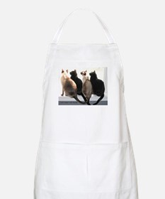 Bird Watching With Cat Friends BBQ Apron