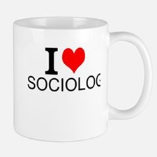 I Love Sociology Mugs