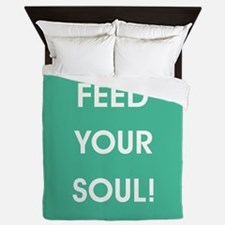FEED YOUR SOUL! Queen Duvet
