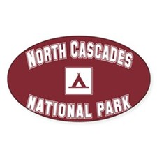 Cute North cascades national park Decal