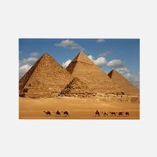 Cool Pyramids giza Rectangle Magnet