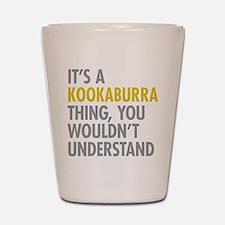 Kookaburra Thing Shot Glass