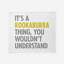 Kookaburra Thing Throw Blanket