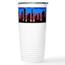 Cute Bassoon skyline Travel Mug
