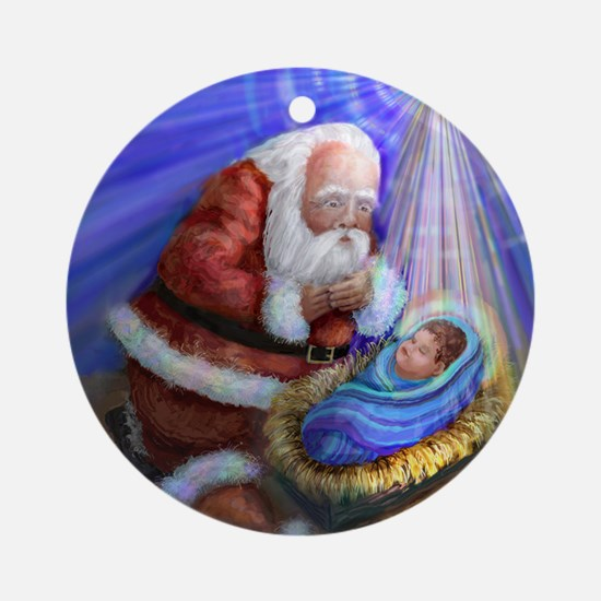 CHRISTMAS REASON Round Ornament
