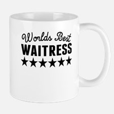Worlds Best Waitress Mugs