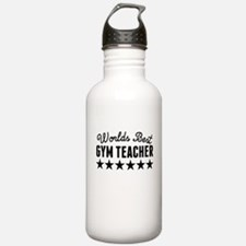 Worlds Best Gym Teacher Water Bottle