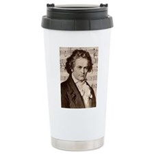Cute Black and white Thermos Mug