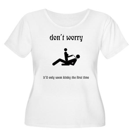 Kinky Women's Plus Size Scoop Neck T-Shirt