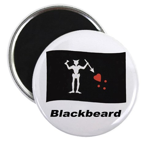 Pirate Flag - Blackbeard Magnet