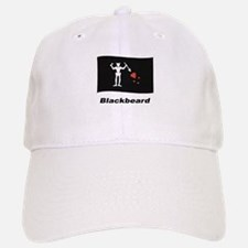Pirate Flag - Blackbeard Baseball Baseball Cap