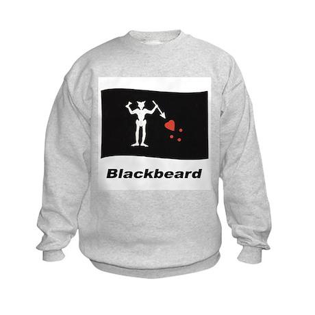Pirate Flag - Blackbeard Kids Sweatshirt