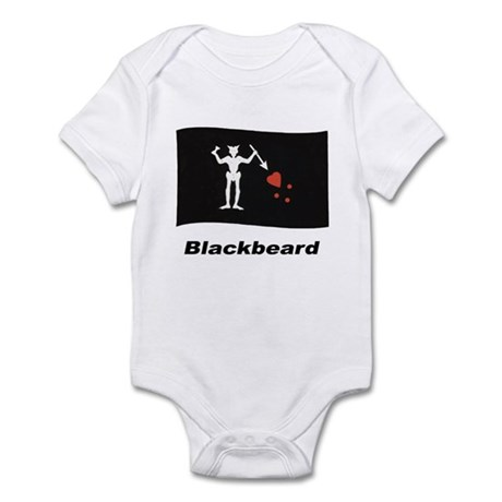 Pirate Flag - Blackbeard Infant Bodysuit
