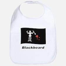 Pirate Flag - Blackbeard Bib