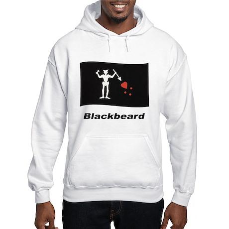Pirate Flag - Blackbeard Hooded Sweatshirt