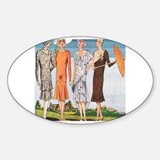 The great gatsby Sticker (Oval)