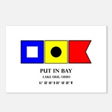 Put in Bay Lake Erie Ohio Postcards (Package of 8)