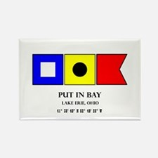 Put in Bay Lake Erie Ohio Nautical Flag Ar Magnets