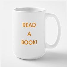 READ A BOOK! Mugs