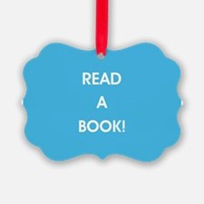 READ A BOOK! Ornament