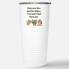 Cats Are Like... Travel Mug