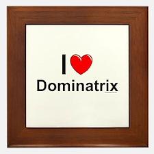 Dominatrix Framed Tile