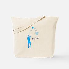 Basketball Shooter Quadratic Equation Tote Bag