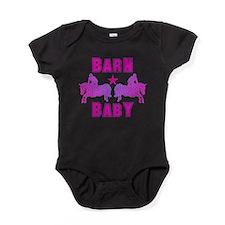 Cute Horse girl Baby Bodysuit
