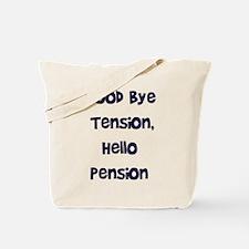 Retirement Tote Bag