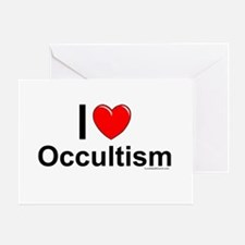 Occultism Greeting Card