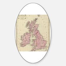Unique Irish map Decal