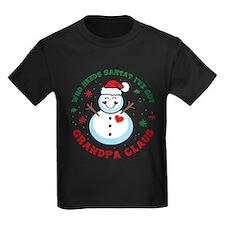 Snowman Grandpa Claus T