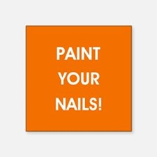 PAINT YOUR NAILS! Sticker
