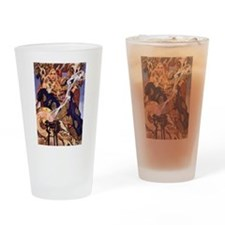 Celtic Queen Maev by Leyendecker Drinking Glass
